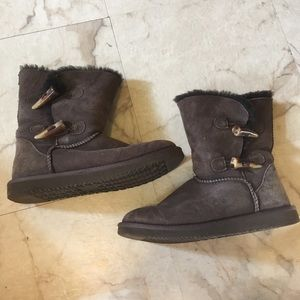 Shoes - 🌸 3/$20 Brown Warm Fuzzy Boot